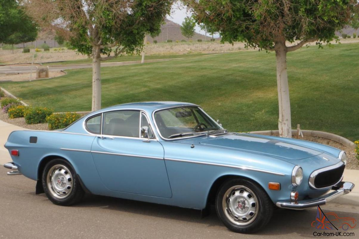 1972 Volvo P1800 Coupe Beautiful Restoration A/C Overdrive ...