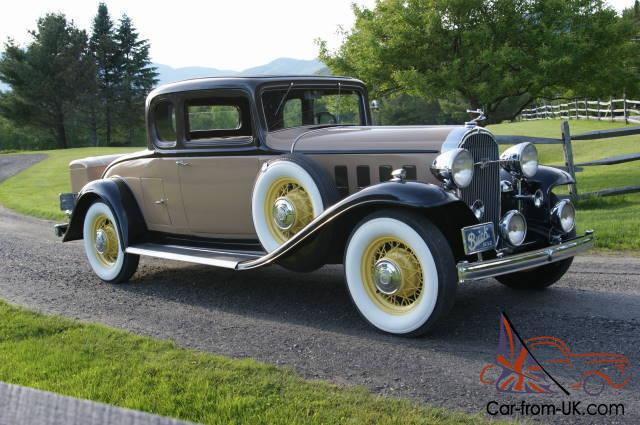 Winter Tires Quebec >> 1932 Buick model 96S Country Club Coupe. Full CCCA classic