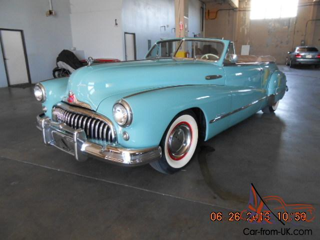 1947 buick roadmaster convertable. Black Bedroom Furniture Sets. Home Design Ideas