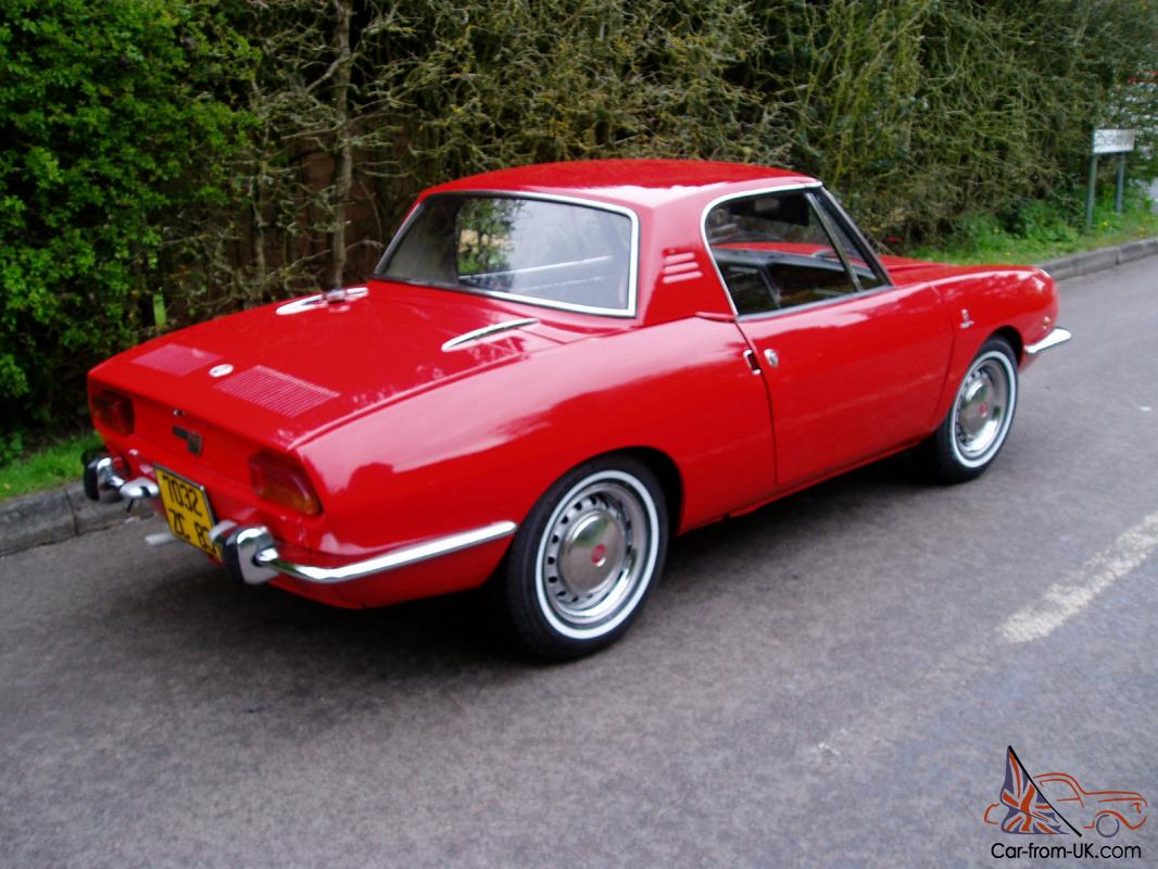 Fiat 850 spider extremly rare restored condition