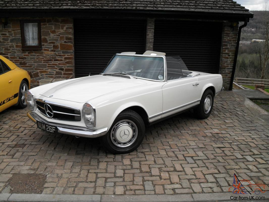 Automatic Cars For Sale Ebay Uk: 1968 Mercedes 280SL Pagoda Automatic