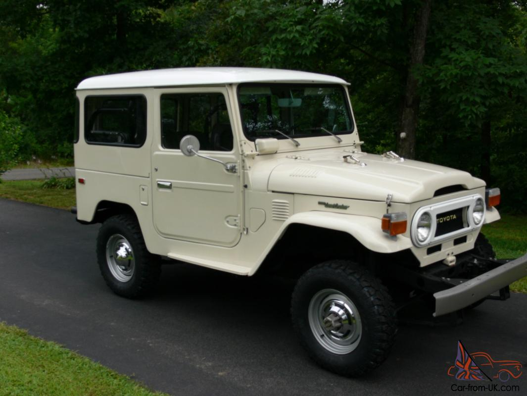 Toyota FJ40 Landcruiser Restored 2nd Owner 75k MInt FJ 40