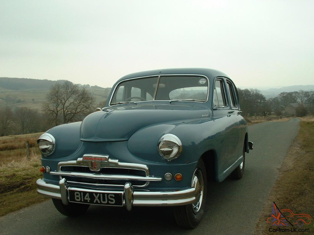 1952 STANDARD VANGUARD PHASE 1 - WHAT A RARITY AND WHAT AN ...