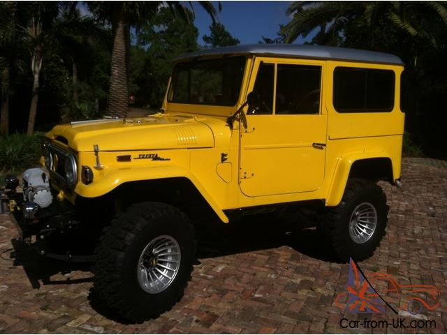 Fj Fj40 Land Cruiser Four Wheel Drive Restored Classic