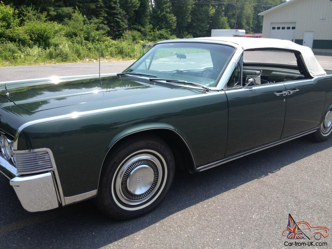 1965 lincoln continental convertible. Black Bedroom Furniture Sets. Home Design Ideas