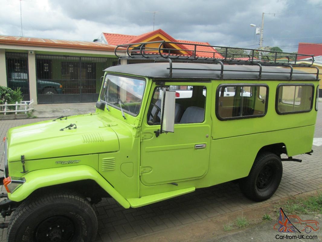 Toyota Land Cruiser Troop Carrier Quot Troopy Quot Diesel