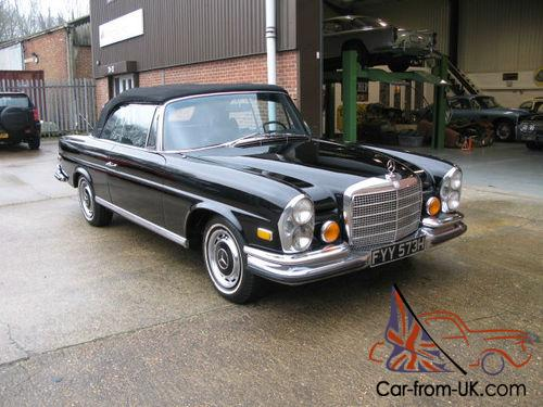 1970 mercedes benz 280se 3 5 convertible. Black Bedroom Furniture Sets. Home Design Ideas