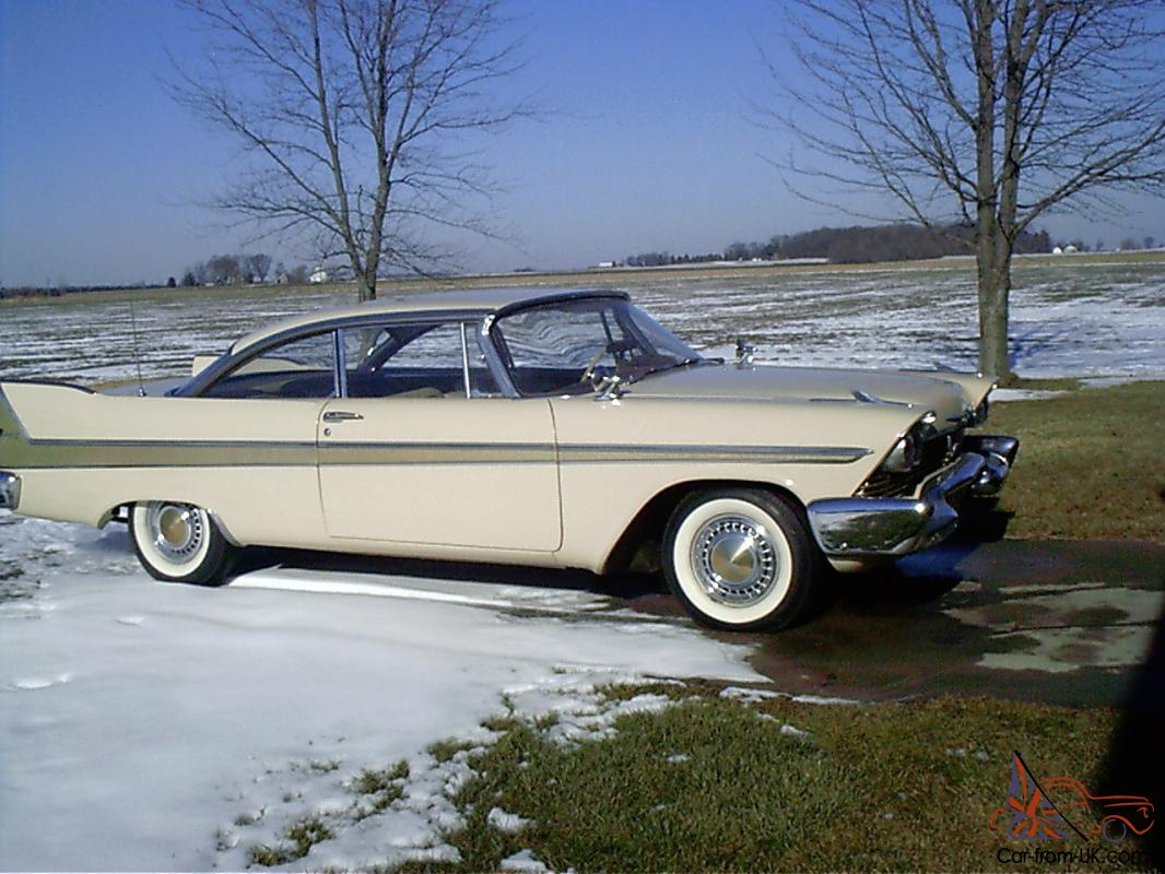 1958 plymouth belvedere for sale craigslist