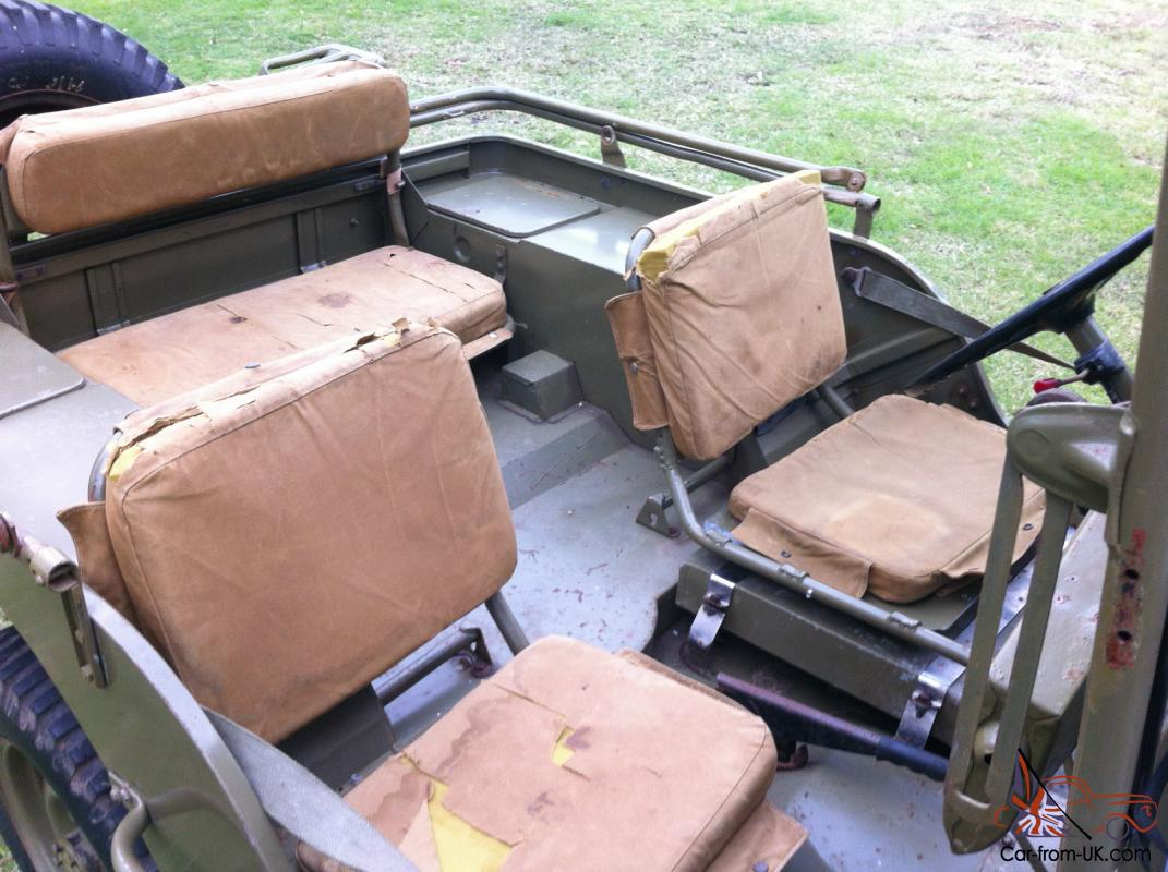 What To Do With Expired Car Seats >> Willys MB WW2 Army Jeep GPW