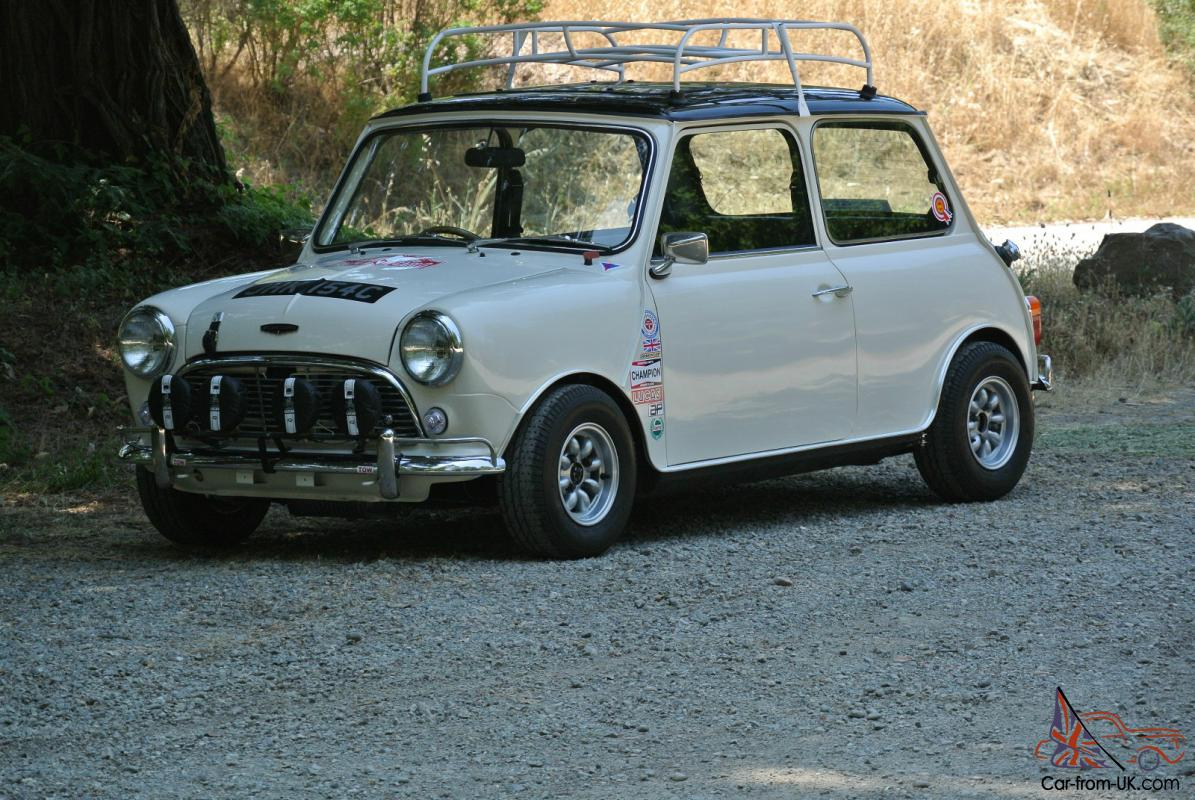 1971 Austin Mini Cooper Works Rally Tribute