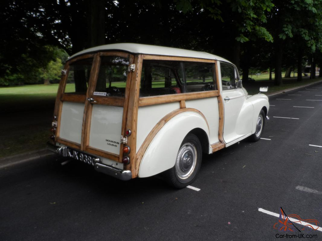 Morris minor traveller for sale - Classic 1969 Morris Minor Traveller Woody Old English White With Red Interior