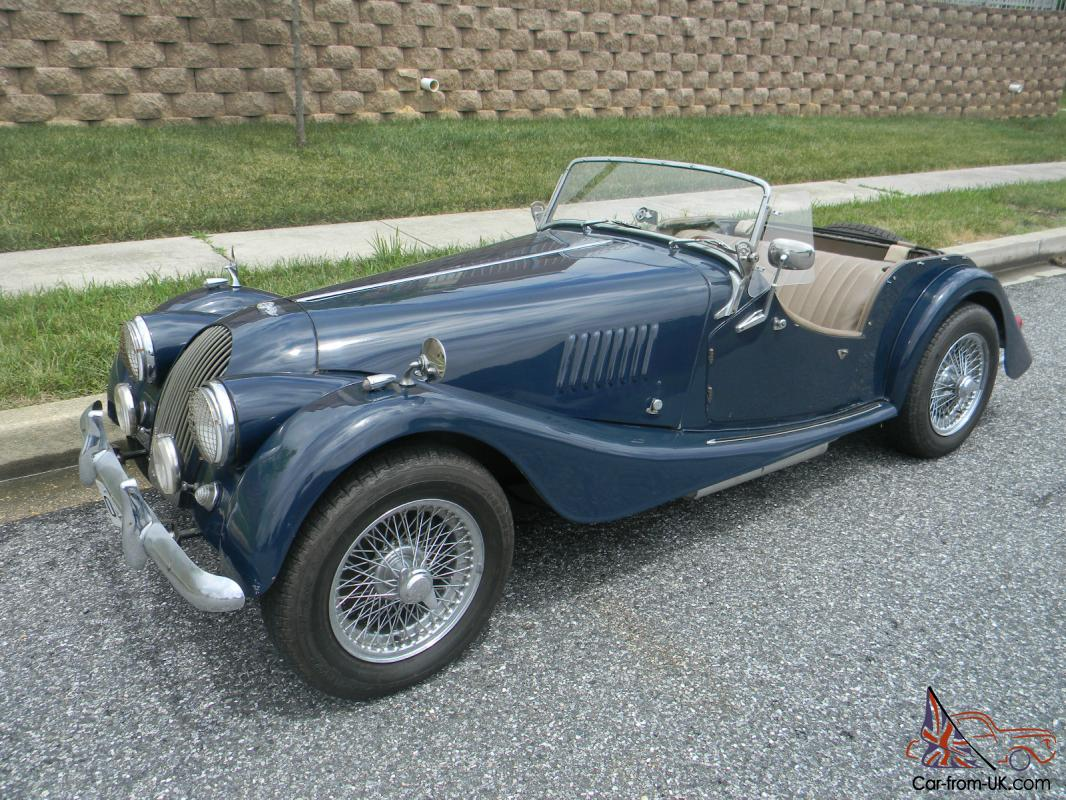 rare 1964 morgan plus 4 4 4 roadster excellent driver only 5 day auction. Black Bedroom Furniture Sets. Home Design Ideas