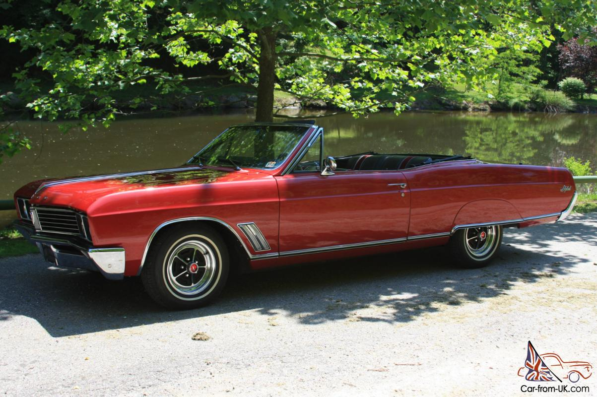 1967 Buick Skylark Convertible Sale Or Trade