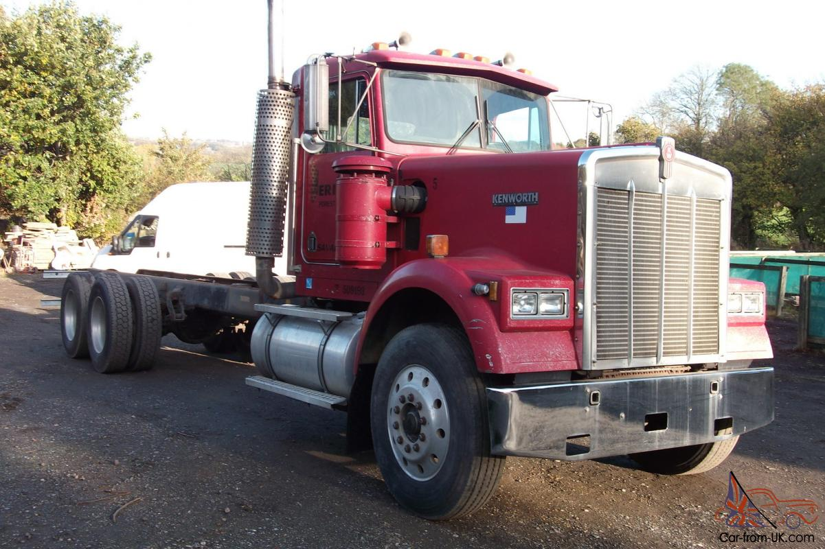 1987 kenworth 900 cab and chassis