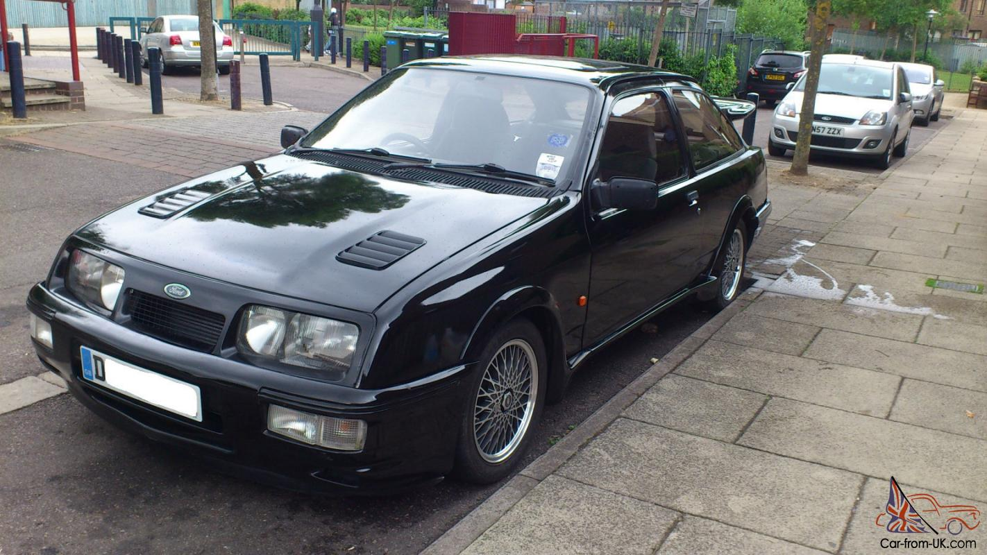 1986 ford sierra rs cosworth black. Black Bedroom Furniture Sets. Home Design Ideas
