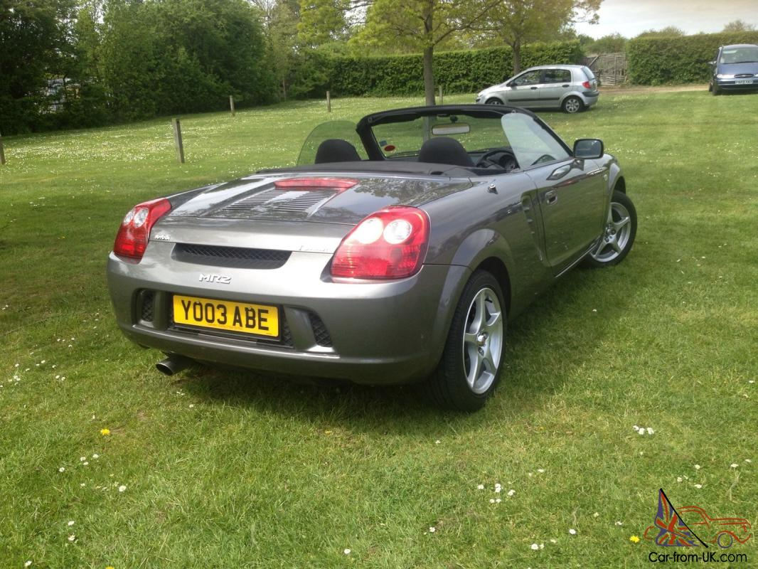 toyota mr2 roadster yo03 abe 15 250 miles immaculate. Black Bedroom Furniture Sets. Home Design Ideas