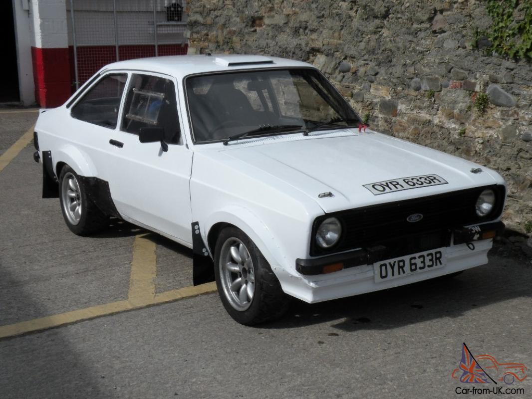 Ford Escort Rally Car GROUP 4 classic ESCORT MK2 2.0 BDX