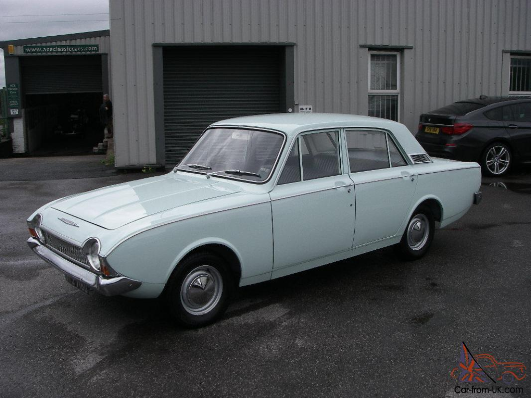 Auto For Sale Ebay: 1966 FORD CORSAIR 1.7 V4 Deluxe 4 Door Saloon