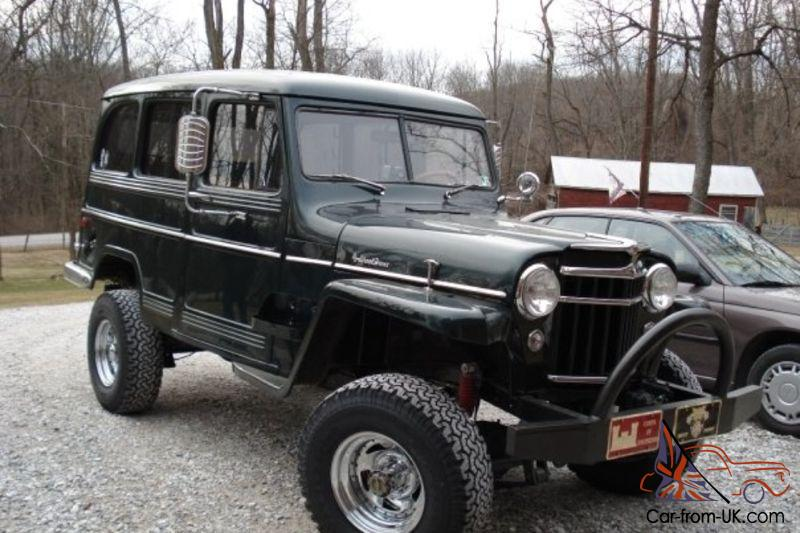 Completely Restored 1956 Willys Wagon