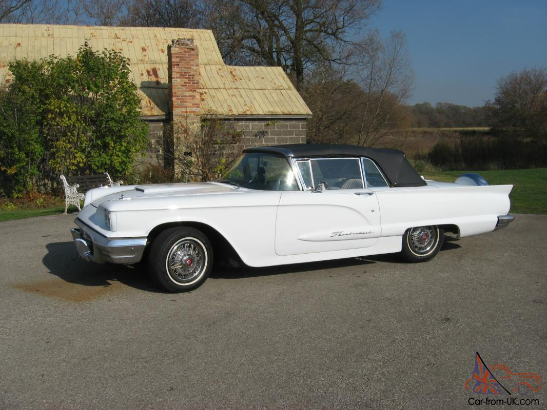1960 ford thunderbird convertible look. Cars Review. Best American Auto & Cars Review