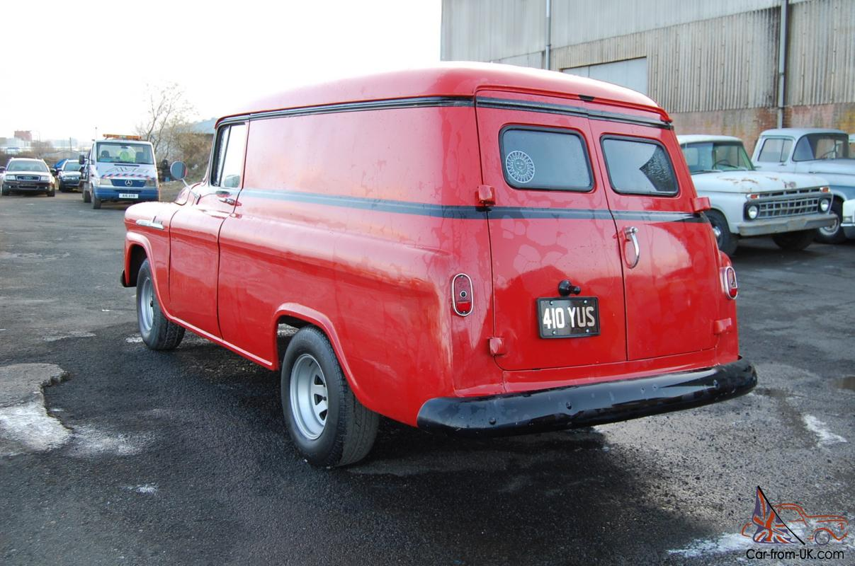 58 chevy apache panel truck