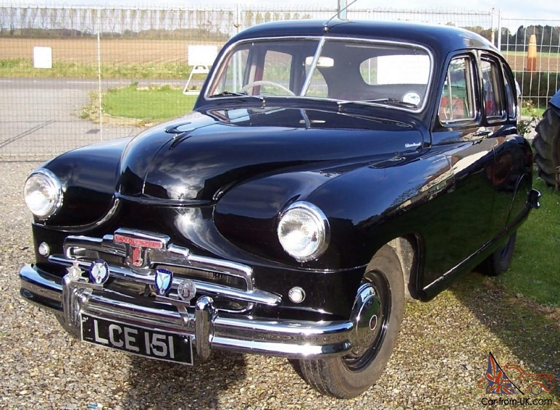 Standard vanguard phase 1 1952 beetle back black for Vanguard motors for sale