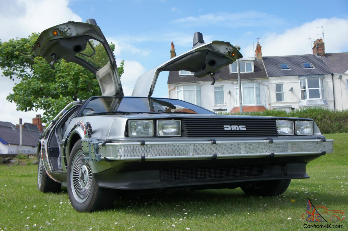 back to the future time machine for sale
