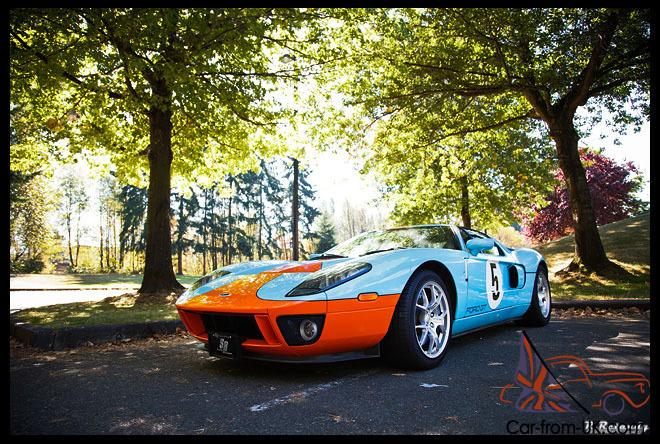Ford Gt Heritage Edition Gulf Colors  Miles Fully Equipped No Stories