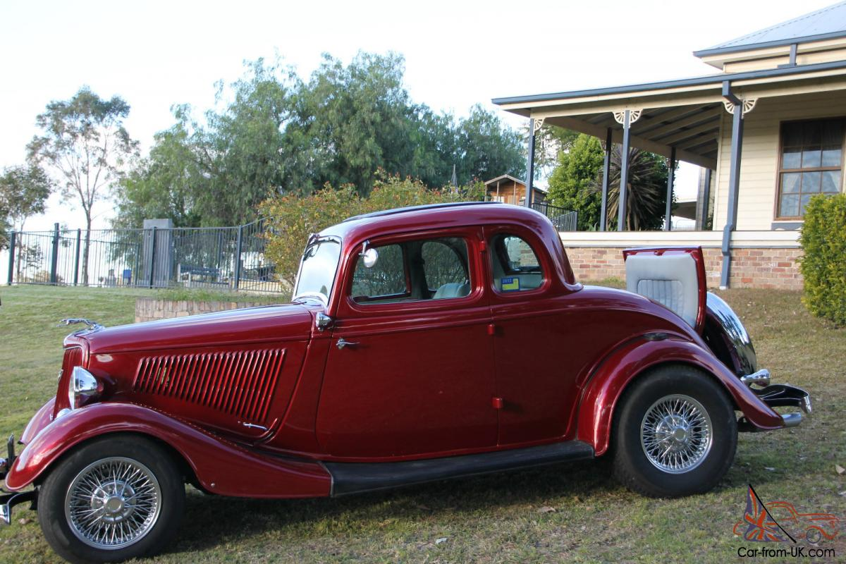 1934 ford coupe 5 window hot rod for 1934 5 window coupe