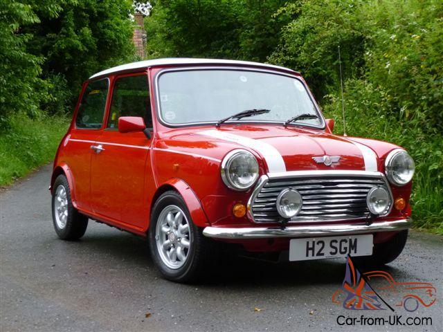 1990 Rover Mini Cooper Rsp S Pack On 19000 Miles From New