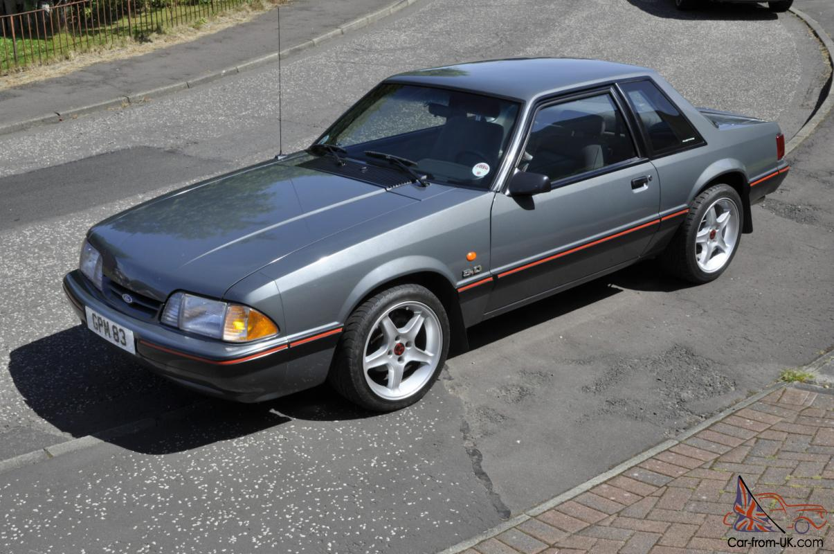 1987 ford mustang lx 5 0 coupe auto. Black Bedroom Furniture Sets. Home Design Ideas