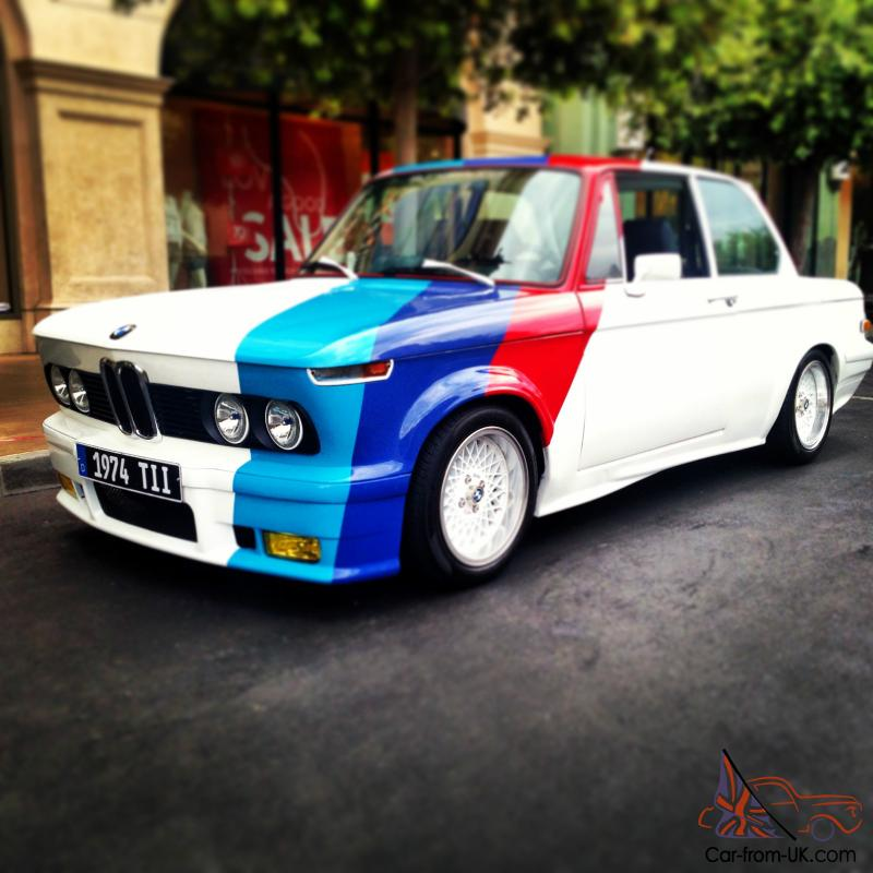 76 Bmw 2002 Modified: 1974 BMW 2002 TII MATCHING NUMBERS COMPLETE CUSTOM