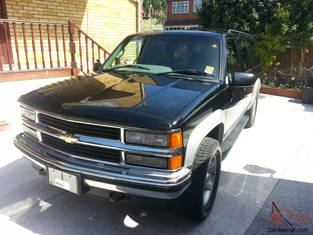 1997 Chevrolet Suburban Rhd 57 Litre Automatic 4x4 8 Seats Fully Loaded 1968 Chevy Photo