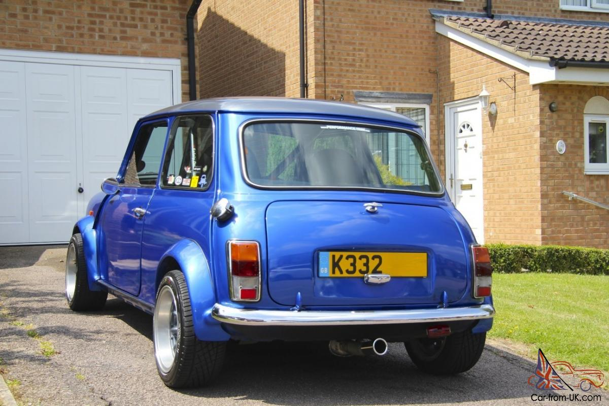 1993 Rover Mini Italian Job Blue 1275