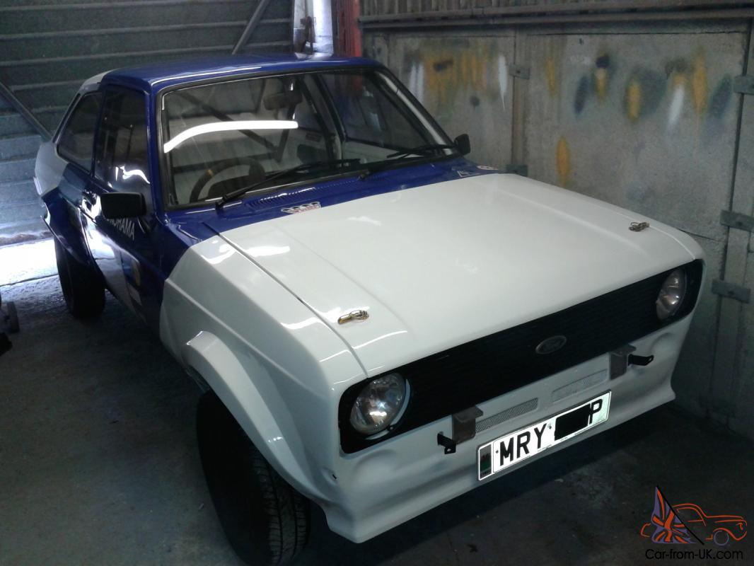 Ford Escort Mk2 Grp 4 Rally Car: Ford Escort Mk2,1976,Group 4 Stage Rally Car,( 2 Door