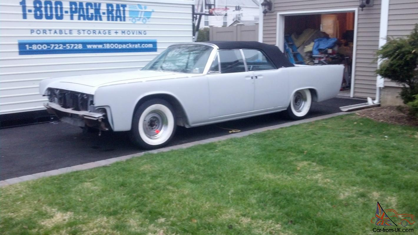 1962 LINCOLN CONTINENTAL CONVERTIBLE 1961 1963 1964 1965 1966 1967 1968