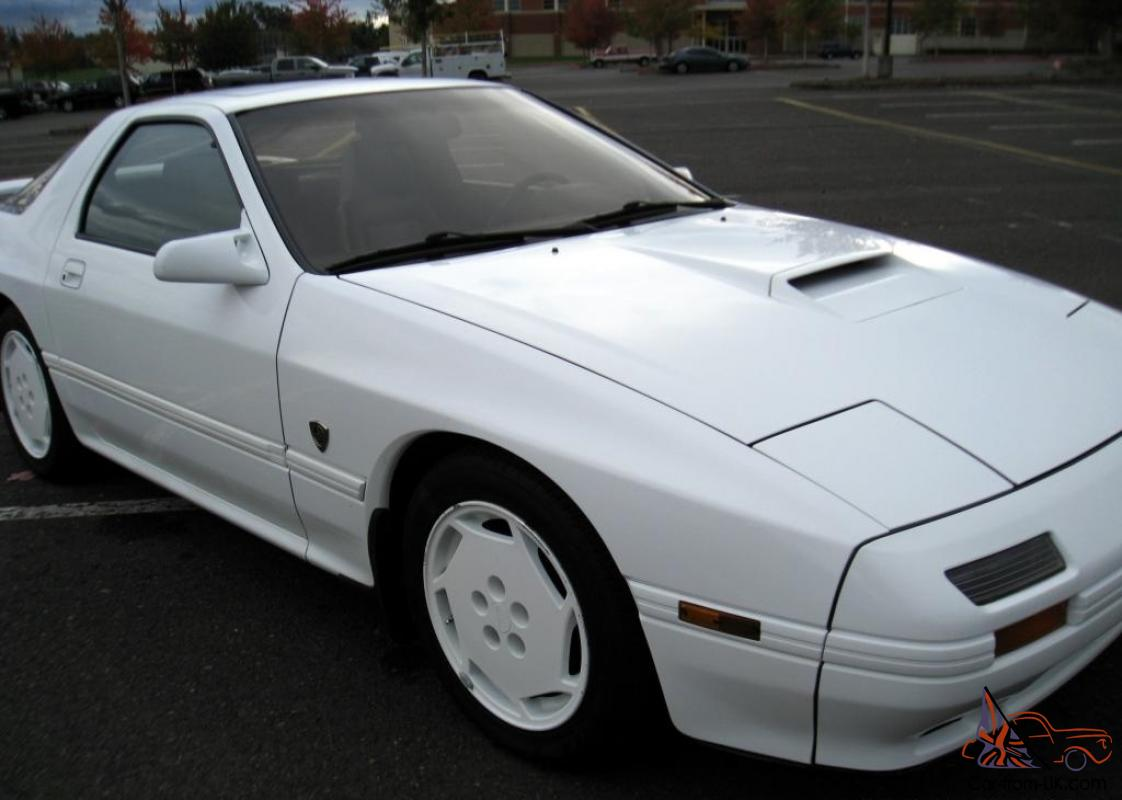 1988 10th Anniversary Mazda Rx7 Turbo Ii 59k Miles Bone