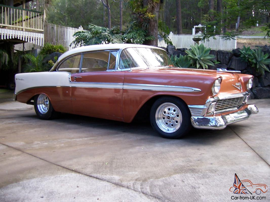 1956 Chevrolet Belair Coupe 1966 Bel Air Rear View