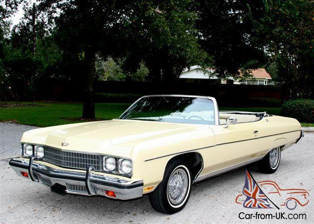 chevrolet caprice convertible 1973. Black Bedroom Furniture Sets. Home Design Ideas
