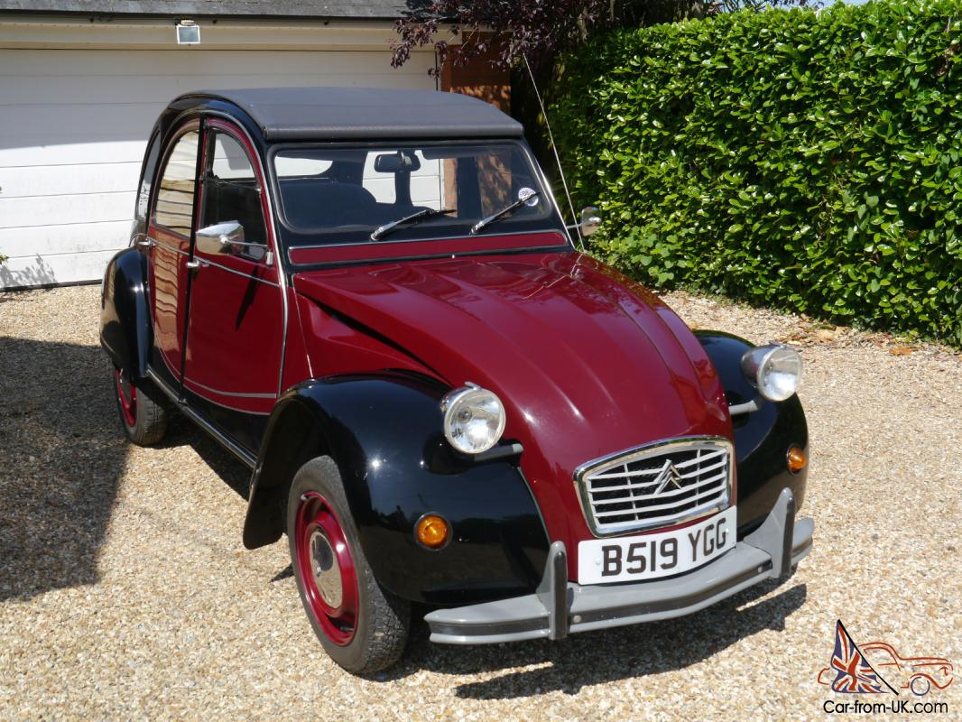 1984 citroen 2cv charleston. Black Bedroom Furniture Sets. Home Design Ideas