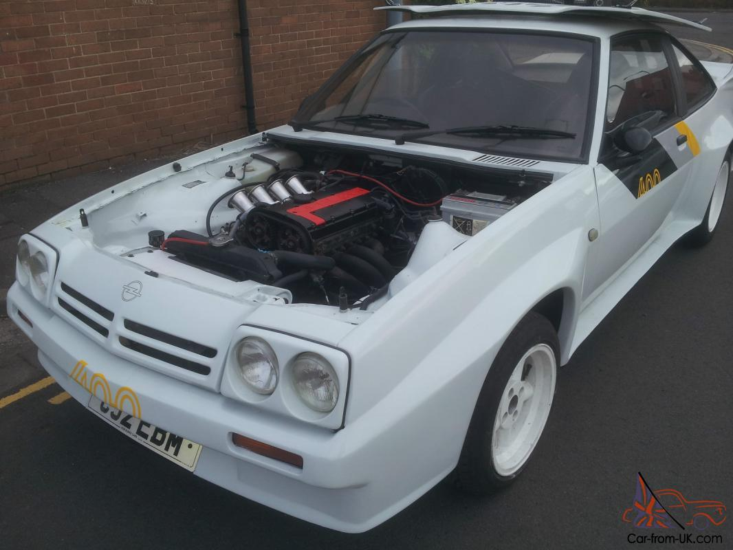 OPEL MANTA 400 R - FAST ROAD / TRACK CAR FOR SALE