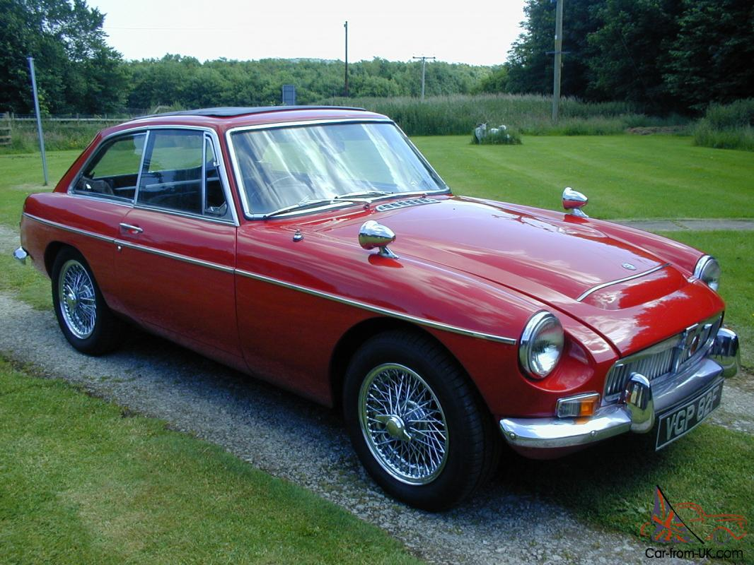 Automatic Cars For Sale Ebay Uk: MGC GT AUTOMATIC UNIVERSITY MOTORS SPECIAL