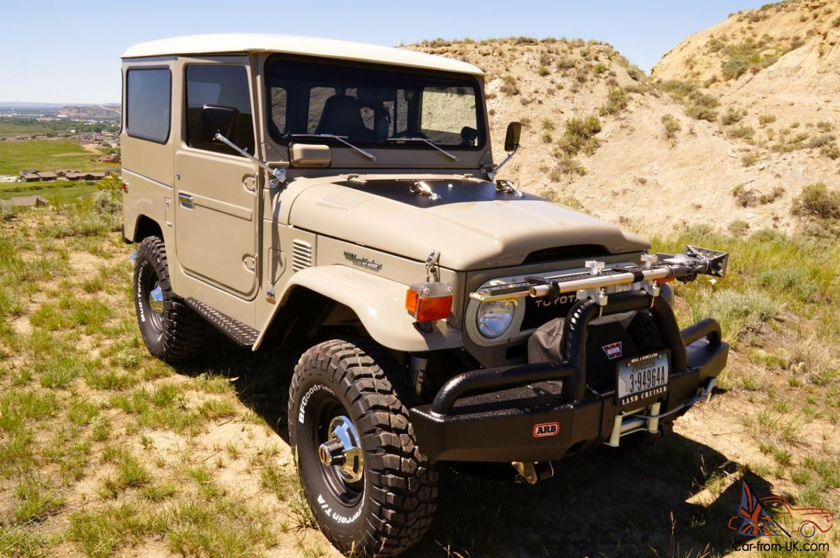1976 toyota land cruiser fj40 fully rebuilt diesel. Black Bedroom Furniture Sets. Home Design Ideas