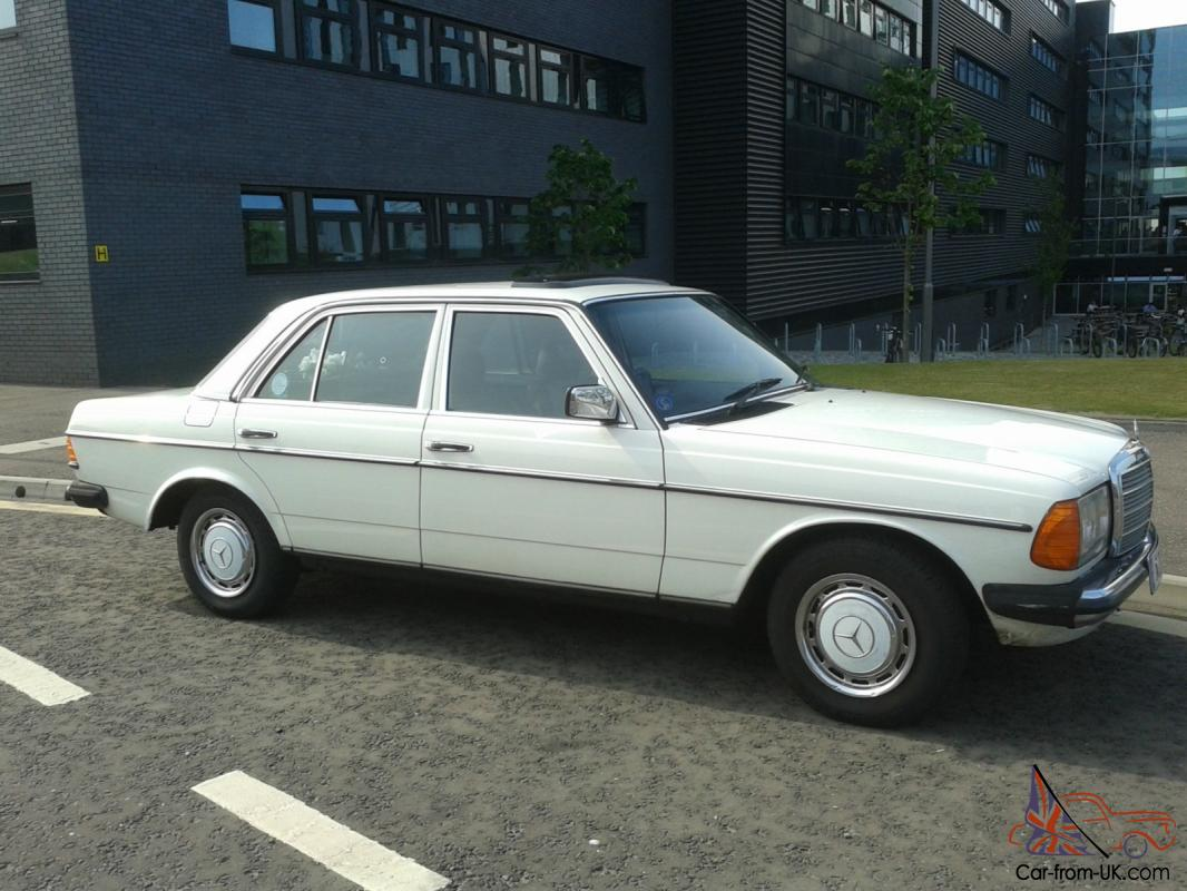 Classic mercedes 300d w123 1984 only 61000 miles ex for Classic mercedes benz for sale ebay