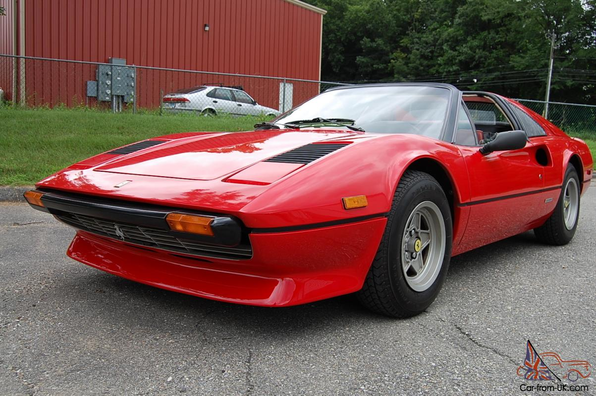1979 ferrari 308 gts red fresh belt service very well cared for car. Black Bedroom Furniture Sets. Home Design Ideas