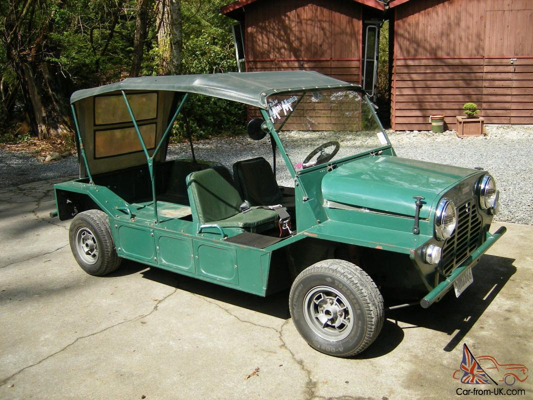 1967 austin mini moke rare very original. Black Bedroom Furniture Sets. Home Design Ideas
