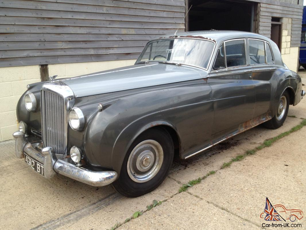1956 bentley s1 saloon for restoration 1 owner. Black Bedroom Furniture Sets. Home Design Ideas