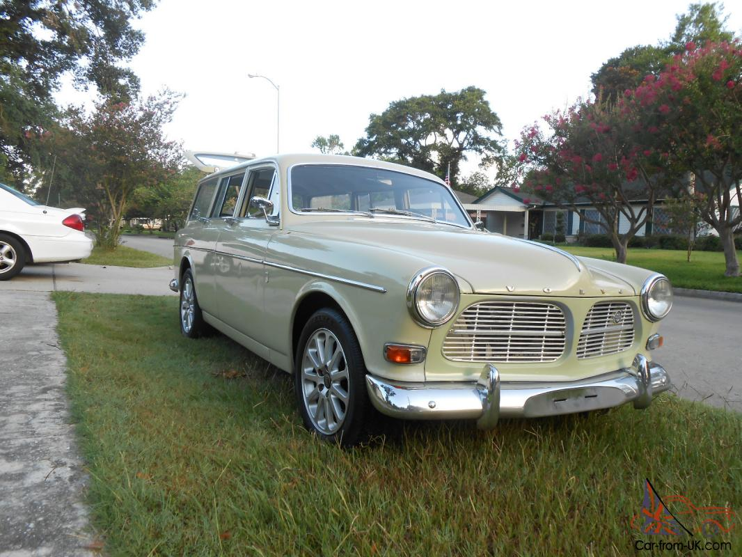 1966 volvo 220 122 wagon classic like new. Black Bedroom Furniture Sets. Home Design Ideas