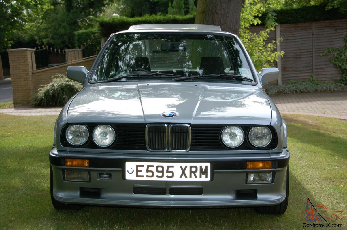 stunning 1987 bmw e30 325i sport m technic 1 very low mileage with