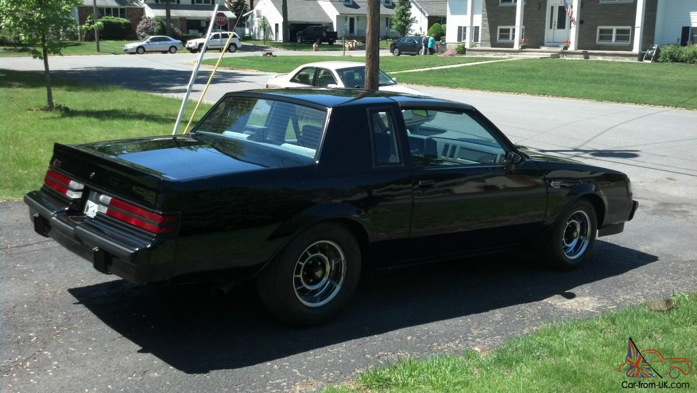 1986 buick grand national. Cars Review. Best American Auto & Cars Review
